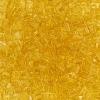 Miyuki Tila Half Cut 5X2.3mm 2Hole Light Amber Transparent